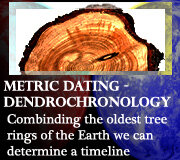 Metric Dating – Dendrochronology – Oldest Living Organisms