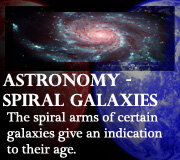 Astronomy – Spiral Galaxies