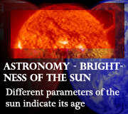 Astronomy – Brightness of the Sun
