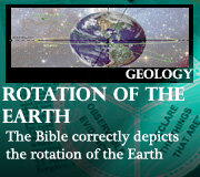 GEOLOGY – ROTATION OF THE EARTH