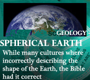 GEOLOGY – SPHERICAL EARTH