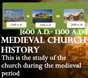CHURCH TIME PERIOD 2 (Medieval)