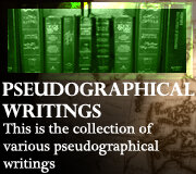 PSEUDOGRAPHICAL WRITINGS (Judeo-Christian)
